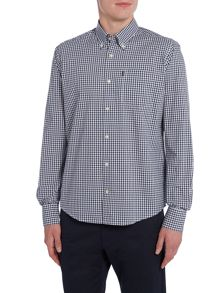 Barbour Country gingham long sleeve shirt