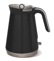 Morphy Richards Aspect steel jug kettle, black