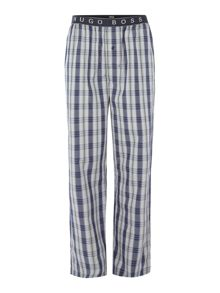 Hugo Boss Urban Check Logo Waistband Pyjama Bottoms