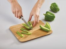Joseph Joseph Chop2Pot Folding Chopping Board, Bamboo, Small