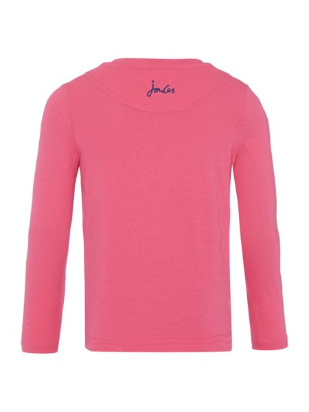 Joules Girls T-shirt Long Sleeve Sequin
