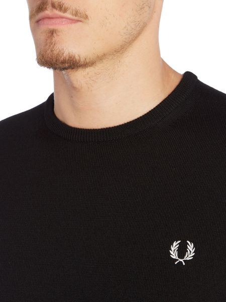 Fred Perry Classic Crew Neck Jumper