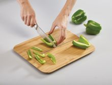 Joseph Joseph Chop2Pot Folding Chopping Board, Bamboo, Large