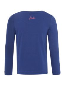 Joules Girls T-shirt Long-Sleeve Hamster