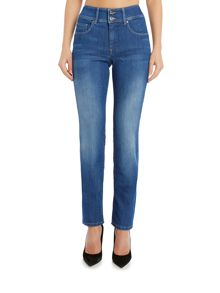 Salsa Secret slim push in jean in denim light wash