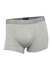 Tommy Hilfiger 3 Pack Premium Logo Waistband Trunks