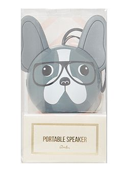 Mini buddy french bulldog speaker