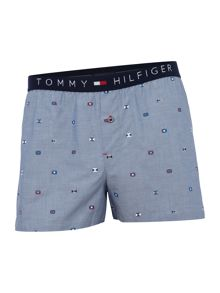 Tommy Hilfiger Mini Flag Logo Woven Boxer