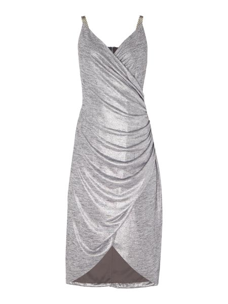 Episode Vneck dress with chian straps