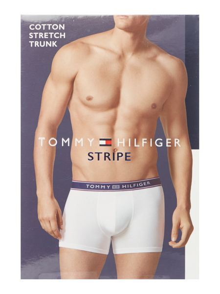 Tommy Hilfiger Striped Cotton Trunk