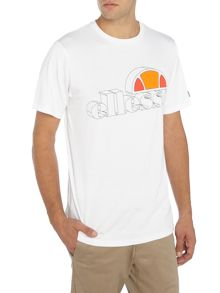Ellesse Outline logo print crew neck t-shirt