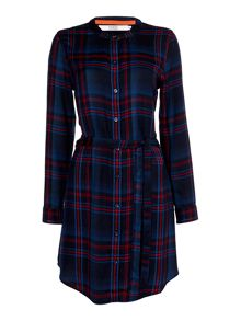 Dickins & Jones Charlotte Checked Tunic