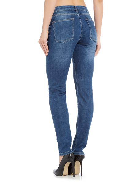 Donna Ida Downtown Dazzler relaxed skinny jean