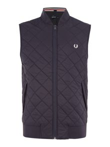 Fred Perry Quilted gilet