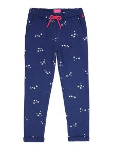 Joules Girls Star Joggers Bottoms