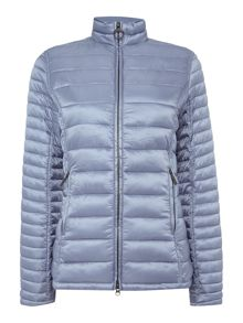 Barbour Clyde short baffle quilted jacket