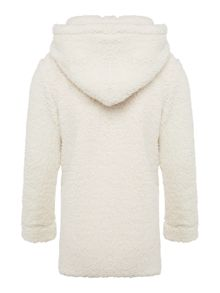 Joules Girls Fleece Hooded Sweatshirt