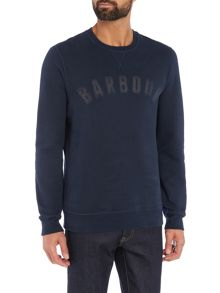 Barbour Logo crew neck jumper
