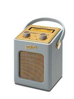 Revival Mini DAB Radio Dove Grey