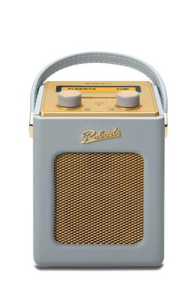 Roberts Revival Mini DAB Radio Dove Grey