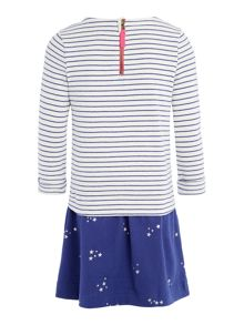 Joules Girl`s Dress Long Sleeve Sequin