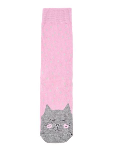 Joules Girls Cat Character Socks