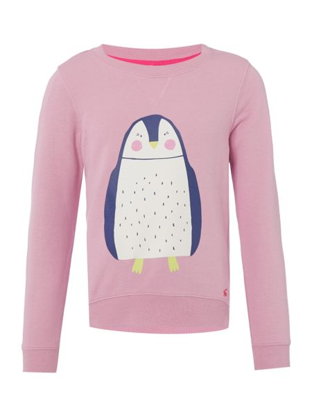 Joules Girls Sweat Long Sleeve Crew