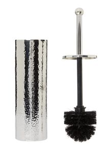 Casa Couture Hammered metal toilet brush