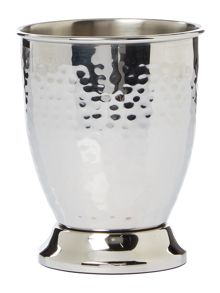 Casa Couture Hammered metal tumbler