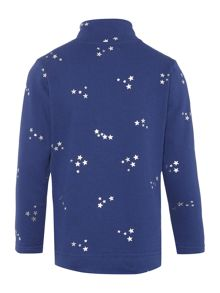Joules Girls Sweat Top Zip Star