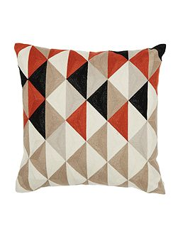 Arlo triangle cushion