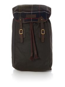 Barbour Waxed Tartan Backpack