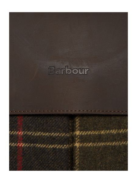 Barbour Waxed Tartan Briefcase