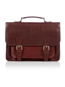 Barbour Leather Satchel