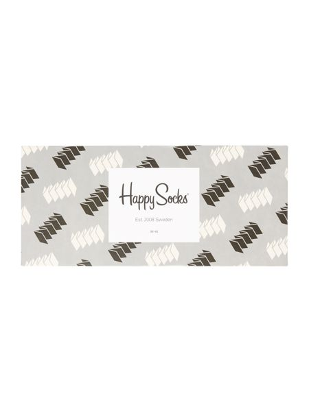 Happy Socks 4 Pair Pack Ankle Socks Gift Box