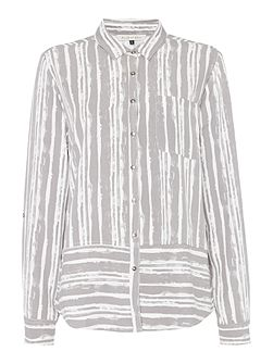 Cliff Brushed Stripe Shirt