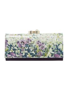 Ted Baker Lionel large enchantment flapover purse