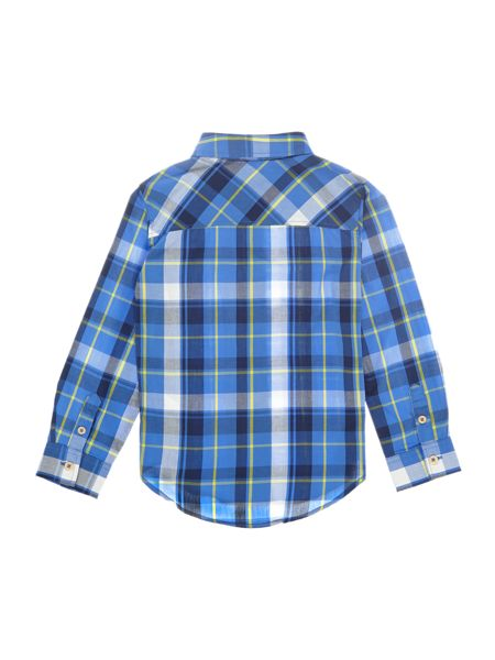 Joules Boys Checked Shirt Cotton