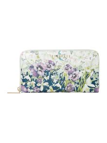 Ted Baker Dawson enchantment ziparound purse