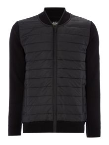 Barbour Baffle zip through hybrid cardigan