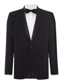Farah Arnos Fancy Skinny Fit Shawl Collar Tuxedo