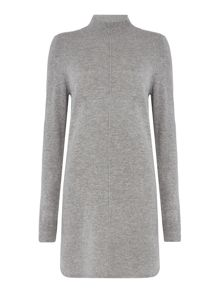 Repeat Cashmere Seam detail dress