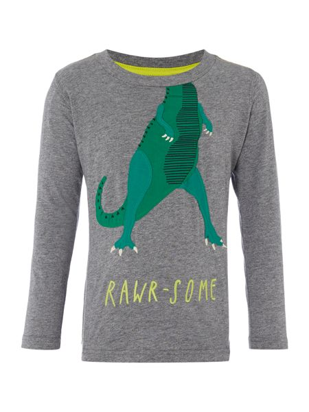 Joules Boys Dinosaur Long Sleeve T-Shirt