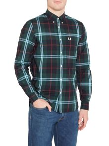 Fred Perry Long sleeve bold check shirt