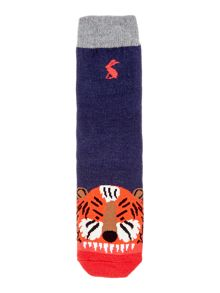 Joules Boys Tiger Character Socks