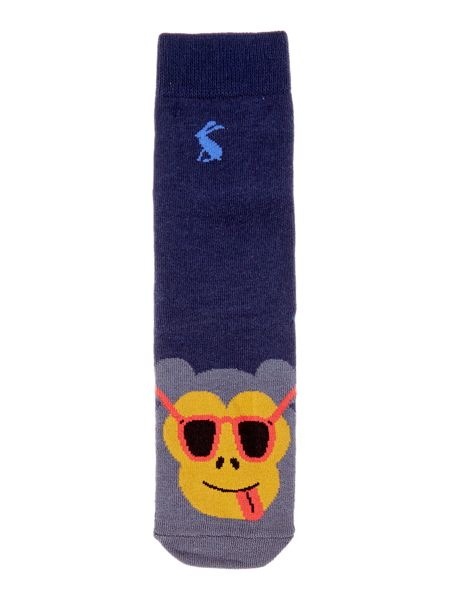 Joules Boys Monkey Character Socks