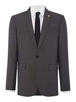 Pullman Houndstooth Skinny Fit Jacket