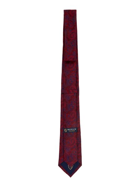 Howick Tailored Orkney ornate paisley silk tie