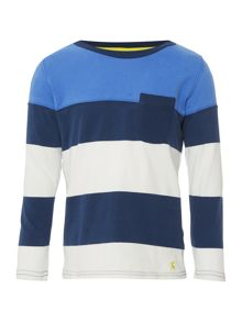 Joules Boy`s Stripe Long Sleeve T Shirt