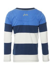 Joules Boys Stripe Long Sleeve T Shirt